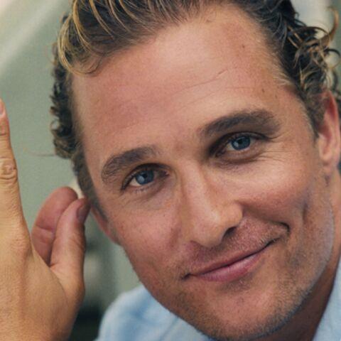 Matthew McConaughey élu célibataire de l'année