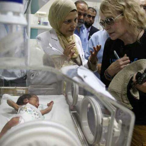 Mia Farrow, au secours de Gaza