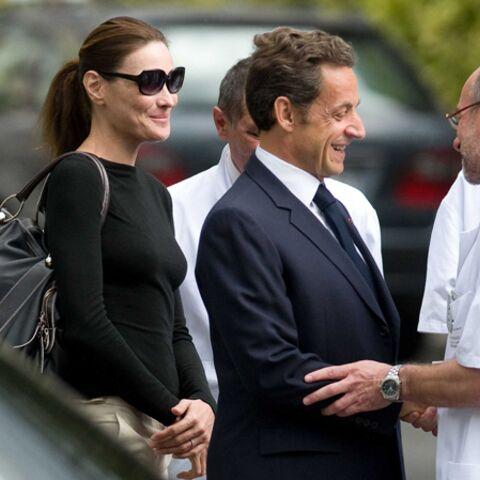Nicolas Sarkozy profite de son hospitalisation pour changer de profil
