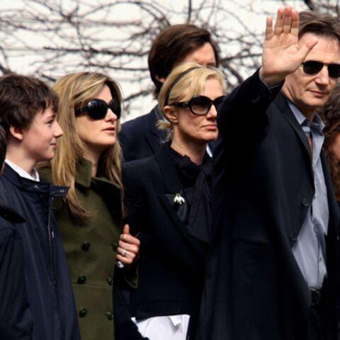 Liam Neeson a dit adieu à l'amour de sa vie