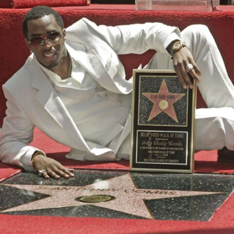 P.Diddy reçoit son étoile à Hollywood
