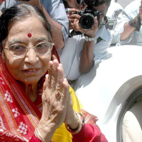 Pratibha Patil devient présidente de l'Inde