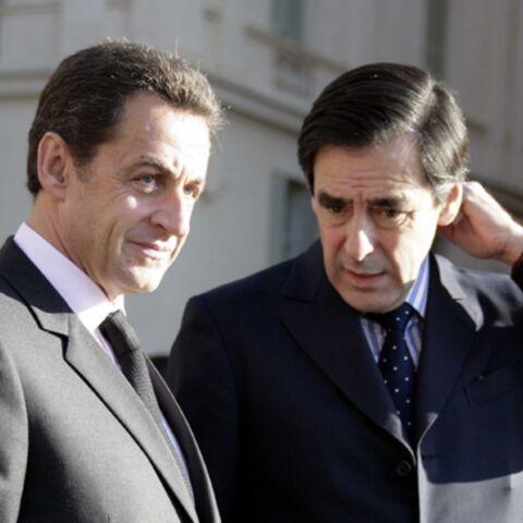 Sarkozy et Fillon en pleine récession