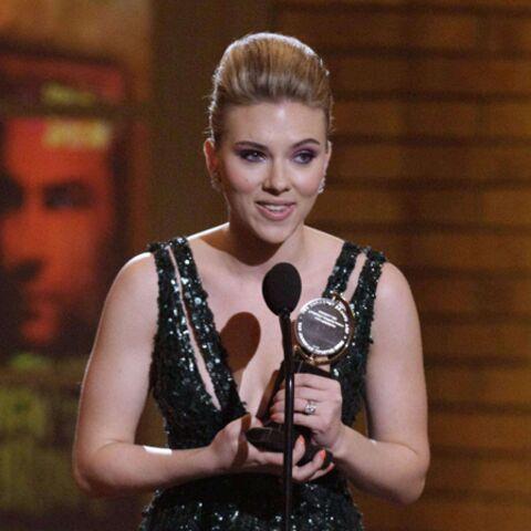 Scarlett Johansson: récompensée pour sa prestation à Broadway