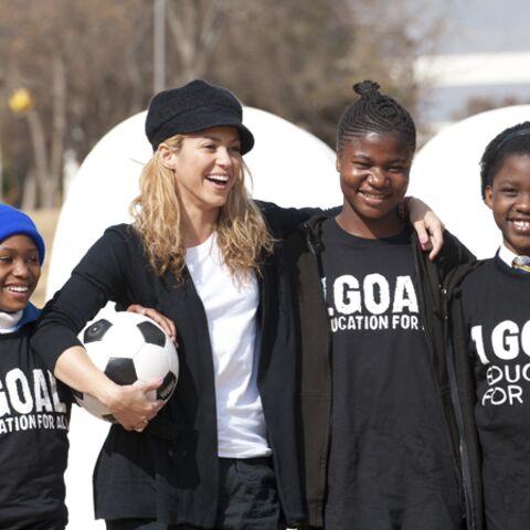 Shakira, ambassadrice du droit à l'éducation
