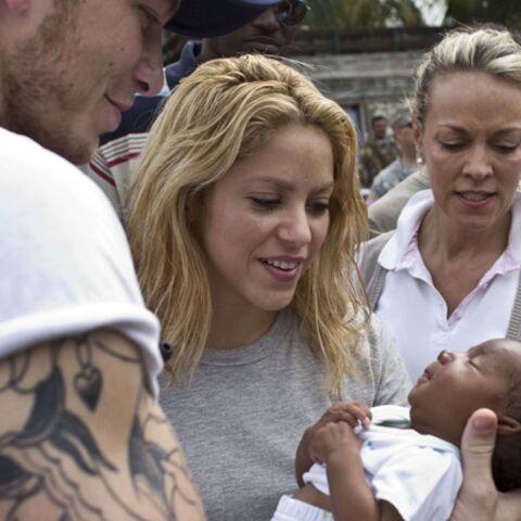 Shakira au chevet d'Haïti