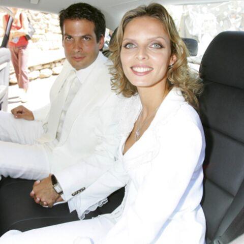Sylvie Tellier s'est mariée dans le Lubéron