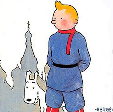 Tintin Au Pays Des Soviets affole le capital