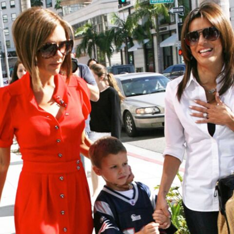 Eva Longoria et Victoria Beckham, businesswomen