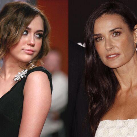 Miley Cyrus, la fille de Demi Moore?