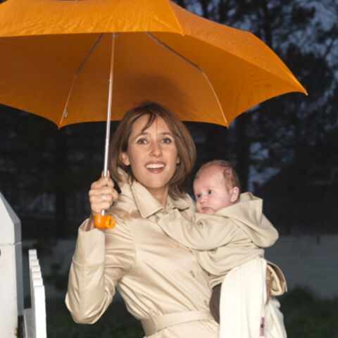 Exclusif: Alexia Laroche-Joubert avec son bébé dans Gala
