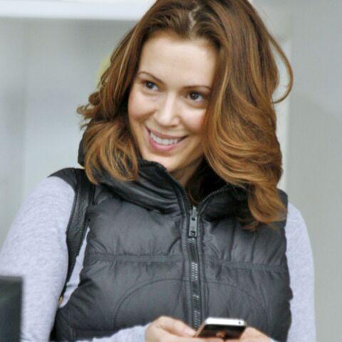 Alyssa Milano met les formes sur Twitter