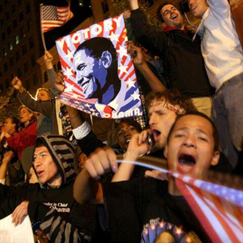 Obama fait déborder de joie l'Amérique