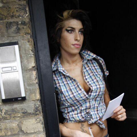 La demeure d'Amy Winehouse profanée