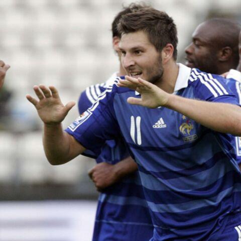 Football: Gignac soulage les Bleus aux Féroé