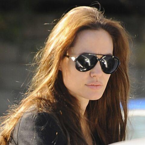 PHOTOS – Angelina Jolie radieuse avec ses filles Shiloh et Zahara