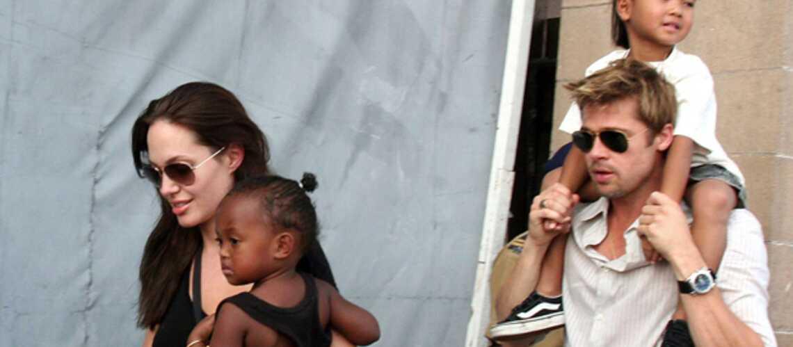 Angelina Jolie et Brad Pitt s'installent en France