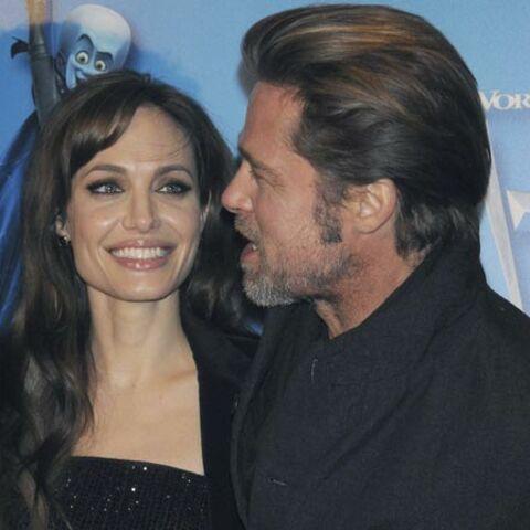 Brad et Angelina, all in black à Paris