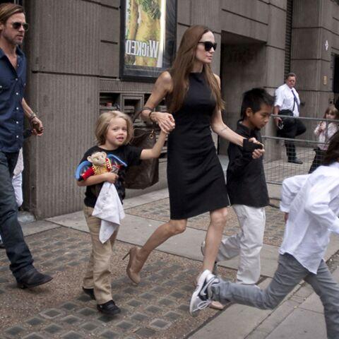 Les Jolie-Pitt fuient l'Angleterre