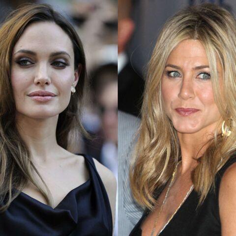 Jennifer Aniston et Angelina Jolie, panique à bord