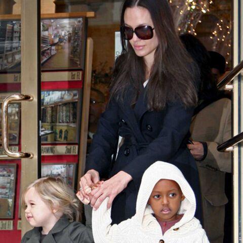 Brad Pitt et Angelina Jolie veulent que leur fille fasse du cinéma