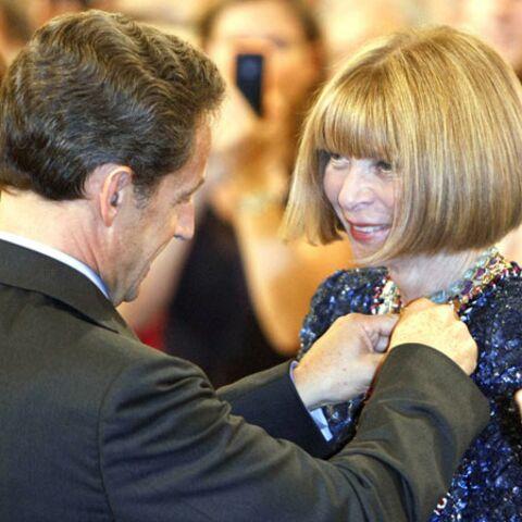 Anna Wintour se fait épingler par Sarkozy