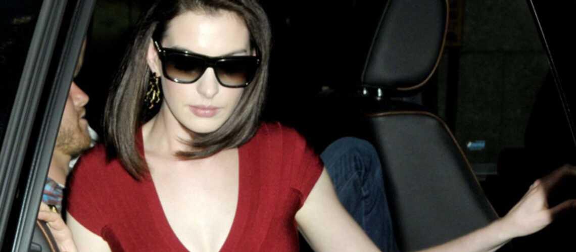 Anne Hathaway a eu un accident