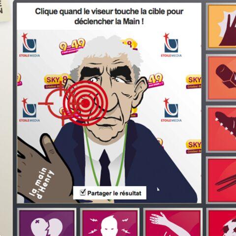 Raymond Domenech: l'appli Facebook qui lui fait mal