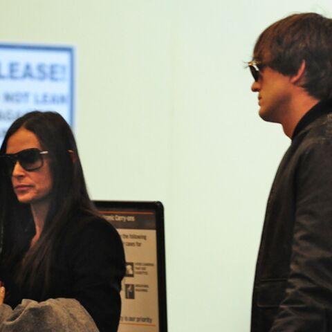 Ashton Kutcher et Demi Moore gardent la foi