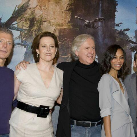 Regardez: l'équipe d'Avatar en promo à Paris