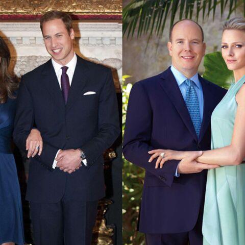 Charlène & Kate: deux bagues, deux styles