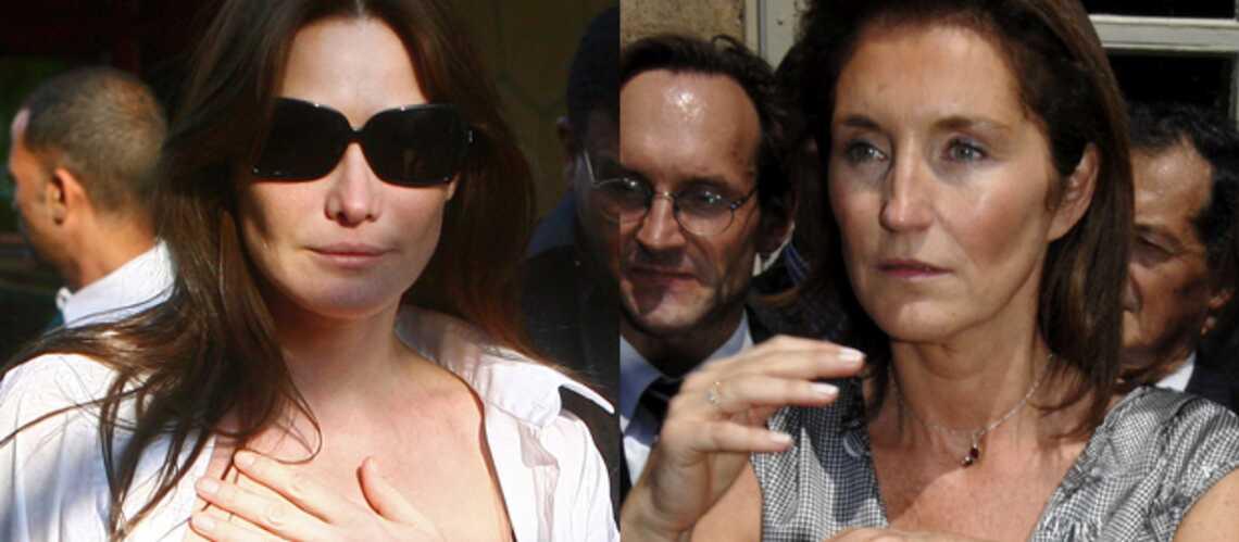 Carla Bruni, Cécilia Sarkozy