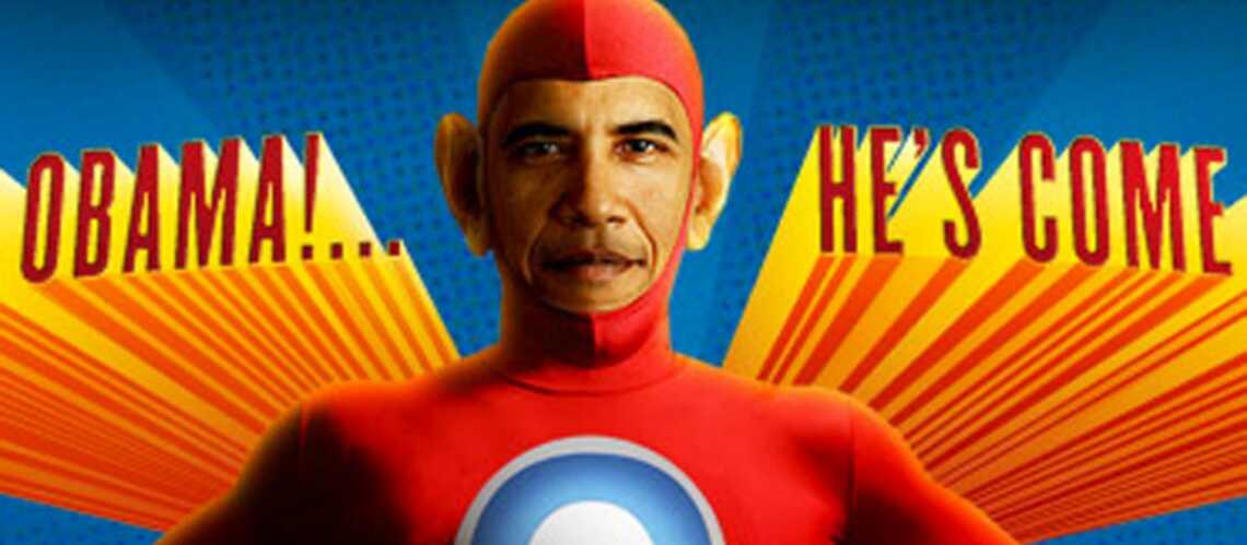 VIDEO- Barack Obama est un super héros!