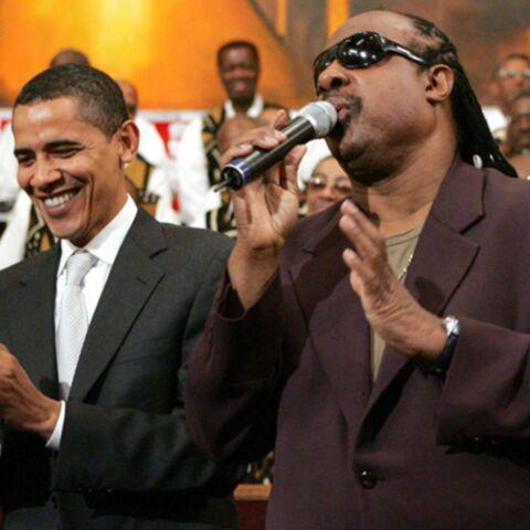 Obama rend hommage à Stevie Wonder
