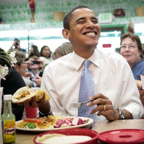 L'investiture d'Obama par le menu