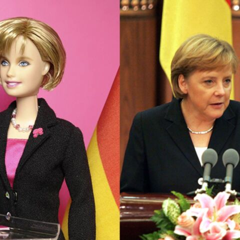 Angela Merkel: appelez-la Barbie Chancelière!