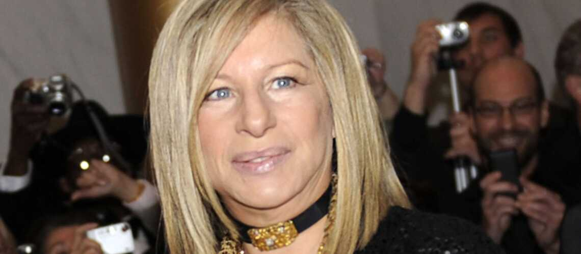Barbra Streisand pas du tout fan de Mitt Romney