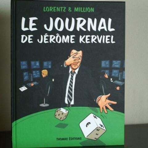 Le Journal de Jérôme Kerviel sort en bande dessinée