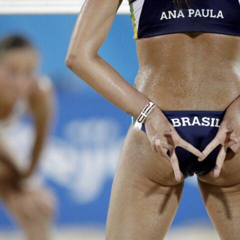 Les bikinis émoustillent les JO
