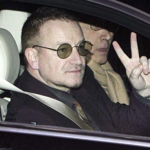 Bono, reçu par l'Elysée, est venu plaider pour l'Afrique