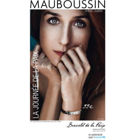 Mauboussin crée un bracelet pour la paix