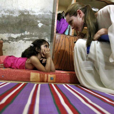 Brad et Angie: leur séjour à Damas