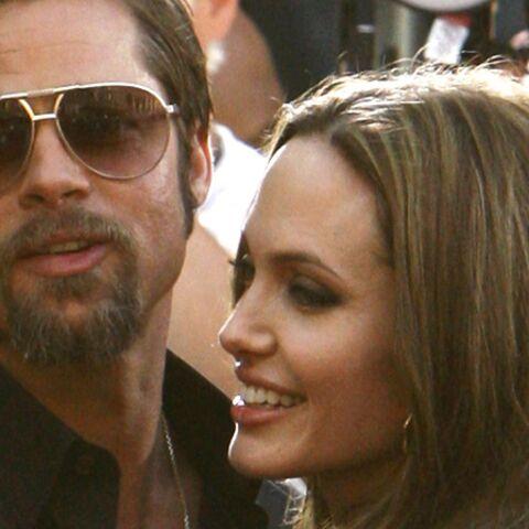 Photos- Brad Pitt et Angelina Jolie, cinq ans d'amour