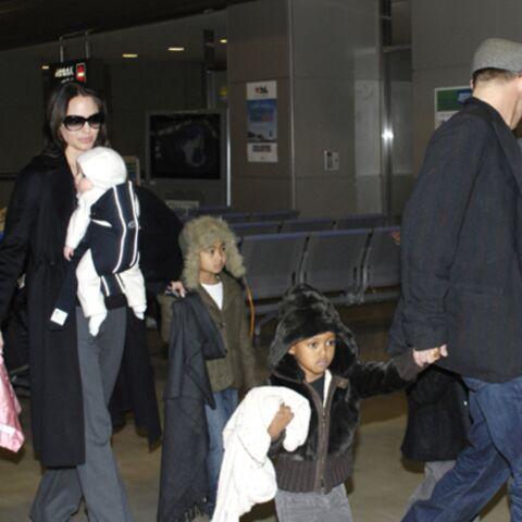 Vidéo: première sortie «officielle» pour les jumeaux de Brad Pitt et Angelina Jolie