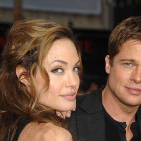 Brad Pitt et Angelina Jolie: quatre ans d'amour en images
