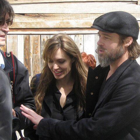 Angelina Jolie et Brad Pitt: Pâques en Bosnie