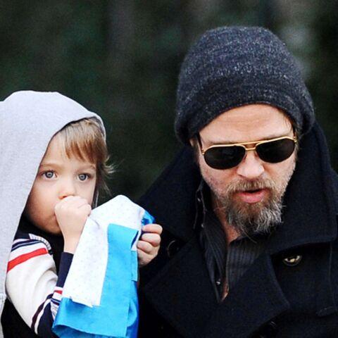 Brad Pitt: Bonpoint pour papa modèle