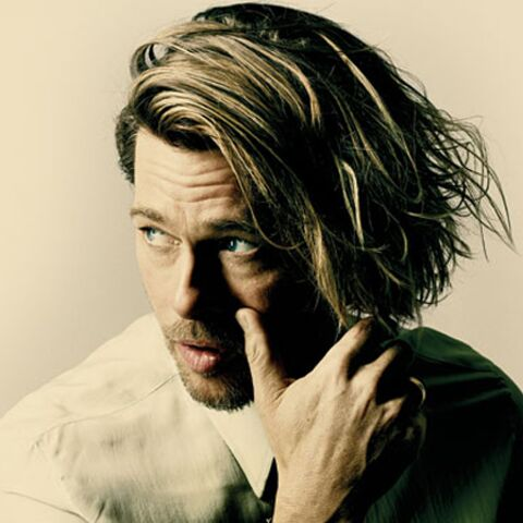 Brad Pitt, cheveux long et idées fixes