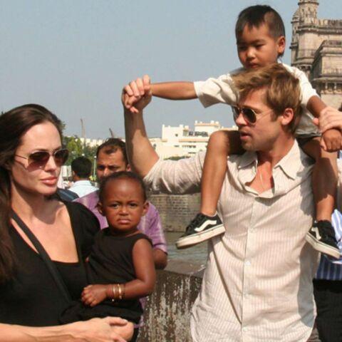 Brad Pitt et Angelina Jolie: un petit 7e?