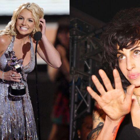 Britney Spears et Amy Winehouse, reines d'un soir